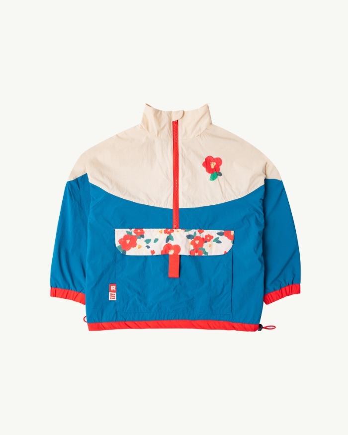 Camellia Double-side windbreaker