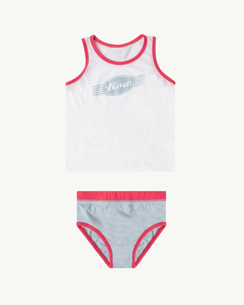 Row Underwear Set - Pink (Girl)