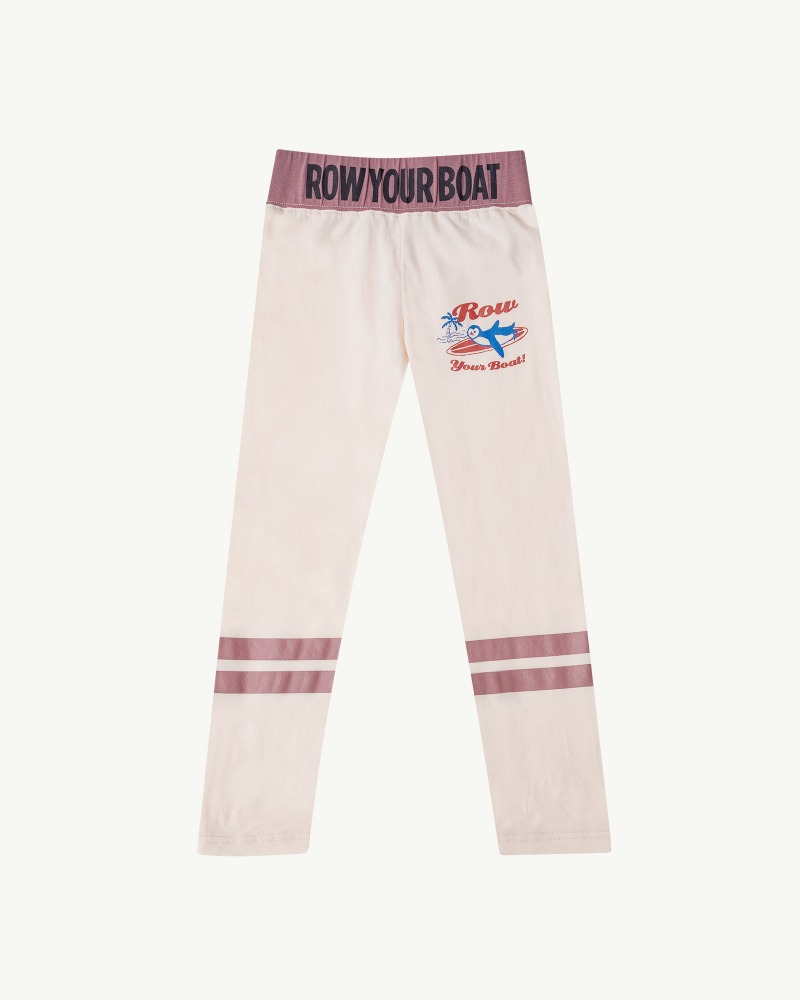 Row Leggings - Ivory