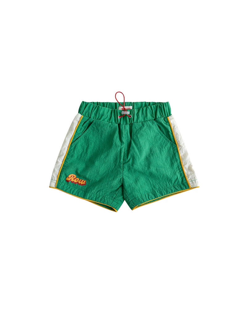[2차 재입고] Row shorts - green